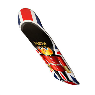 Shape De Skate 20,6cm Desenhos animados do soldado da guarda da rainha