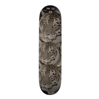 Shape De Skate 20,6cm design da arte do realista dos animais selvagens