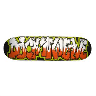 Shape De Skate 20,6cm Duck, Weave de n com o gráfico do estilo da arte