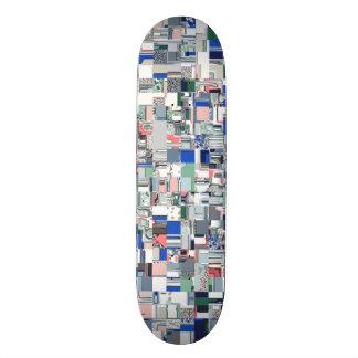 Shape De Skate 20,6cm Grade geométrica das cores