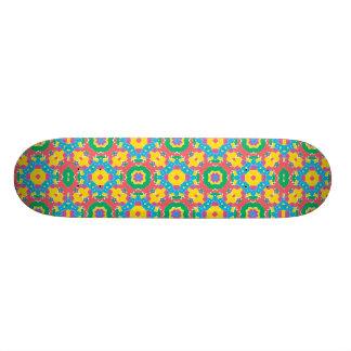 Shape De Skate 20,6cm Impressão colorido geométrico