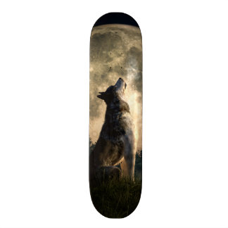 Shape De Skate 20,6cm Lobo do urro