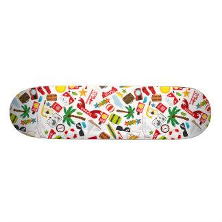 Shape De Skate 20,6cm Mar sul do viagem das férias de verão do teste