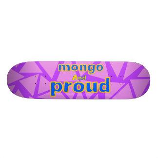 Shape De Skate 20,6cm Mongo de Apolloz e gráfico orgulhoso