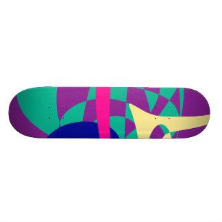 Shape De Skate 20,6cm Montanhas e planeta