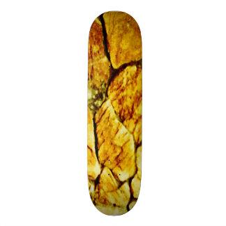 Shape De Skate 20,6cm Pedras douradas