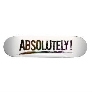 Shape De Skate 20,6cm Rotulação afligida corajosa ABSOLUTAMENTE positiva