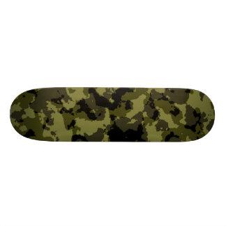 Shape De Skate 20,6cm Teste padrão militar do estilo da camuflagem