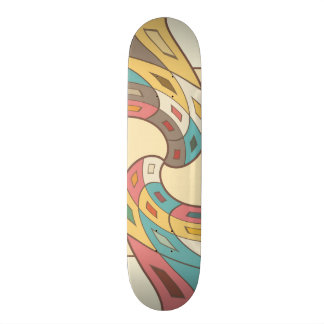 Shape De Skate 20cm Abstrato geométrico
