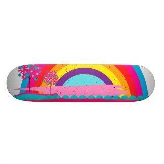 Shape De Skate 20cm Arco-íris da paisagem