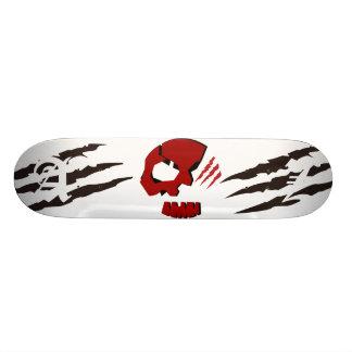 Shape De Skate 20cm CABEÇA do CRÂNIO de SKULETONS com garras de urso