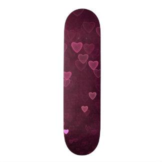 Shape De Skate 20cm Corações de Bokeh