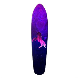 Shape De Skate 20cm Imagem sparkly do unicórnio bonito cor-de-rosa da