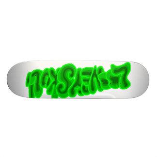 Shape De Skate 20cm LooneySkull-Verde