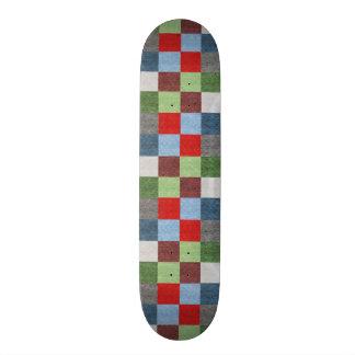Shape De Skate 20cm O estilo colorido do tecido esquadra o teste