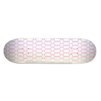 Shape De Skate 20cm Teste padrão Pastel