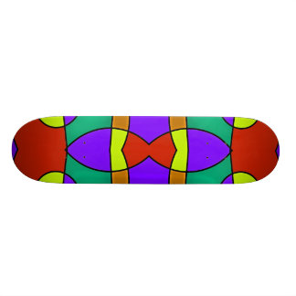 Shape De Skate 21,6cm #573 abstrato