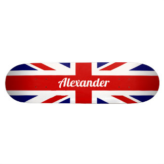 Shape De Skate 21,6cm Bandeira de Reino Unido/Union Jack | personalizado