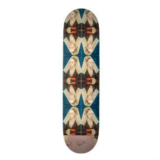 Shape De Skate 21,6cm Beleza Verde-Eyed do vintage: Retrato de uma