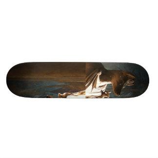 Shape De Skate 21,6cm Cão
