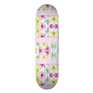Shape De Skate 21,6cm Conselho do slider da assinatura feita sob