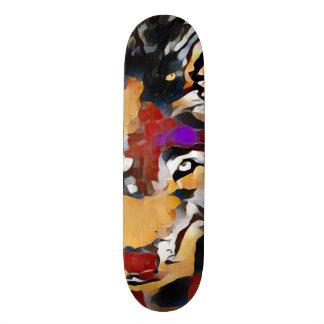 Shape De Skate 21,6cm Conselho feito sob encomenda abstrato do parque do