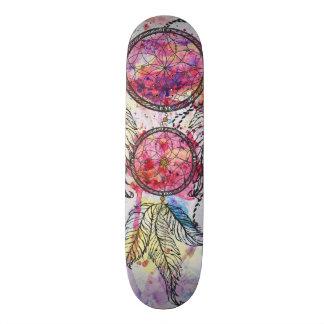 """Shape De Skate 21,6cm Esboço Dreamcatcher """"perseguição da aguarela seus"""