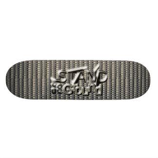 Shape De Skate 21,6cm ESTEJA SUA TERRA em pontos do Em-Line