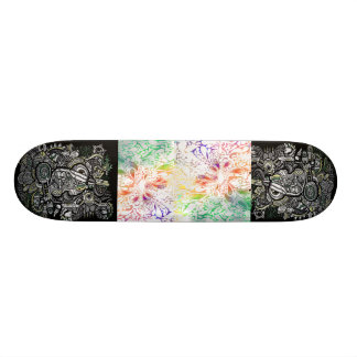 Shape De Skate 21,6cm estilo do conselho do scate da arte