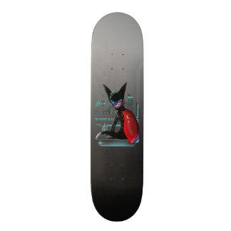 Shape De Skate 21,6cm Gato de Ninja do Cyberpunk