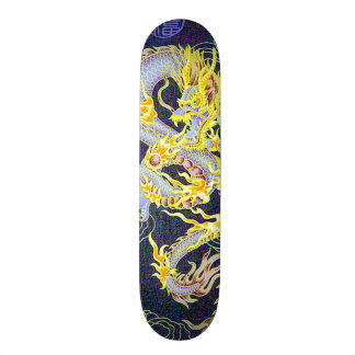 Shape De Skate 21,6cm Holograma celestial chinês do dragão do imperador