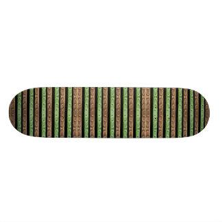 Shape De Skate 21,6cm Impressão das listras de Camo