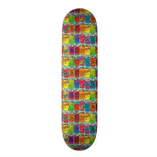 Shape De Skate 21,6cm Latas do pop de soda