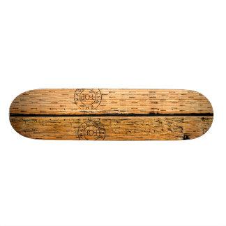 Shape De Skate 21,6cm Listras de madeira industriais feitas nos EUA