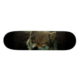 Shape De Skate 21,6cm Lua do lobo