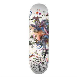 Shape De Skate 21,6cm Menina do tanque