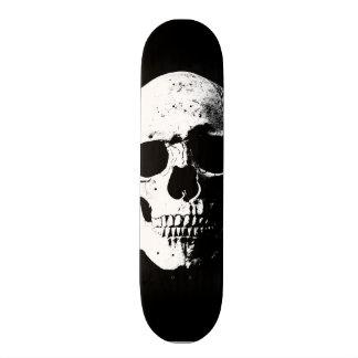 Shape De Skate 21,6cm olhar retro do pop art do crânio