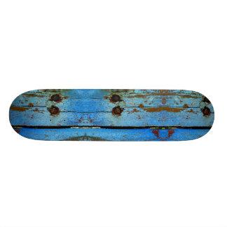 Shape De Skate 21,6cm Skateboard. de madeira azul