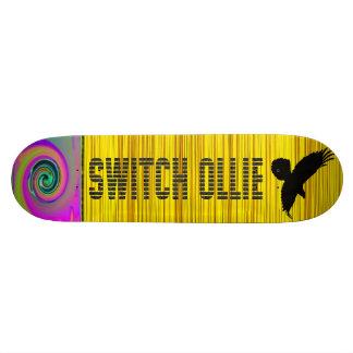 "Shape De Skate 21,6cm - "" Switch ollie!  Monopatim"