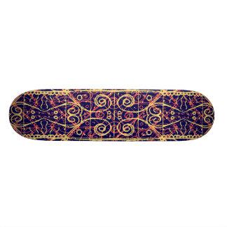Shape De Skate 21,6cm Teste padrão ornamentado tribal