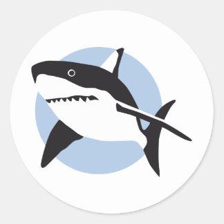 shark attack adesivo