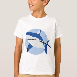 shark attack camiseta