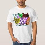 sharkcat GATOS T-shirts