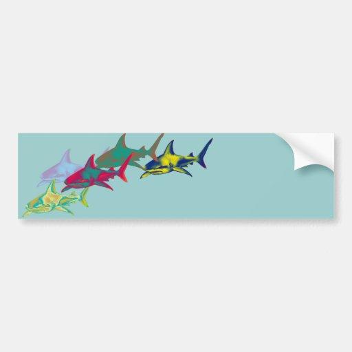Sharks Adesivo