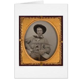 Sharp de Joseph, com uma picareta, uma bandeja e Cartão Comemorativo