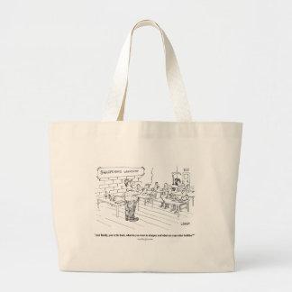 Sharpening o saco dos desenhos animados da oficina sacola tote jumbo