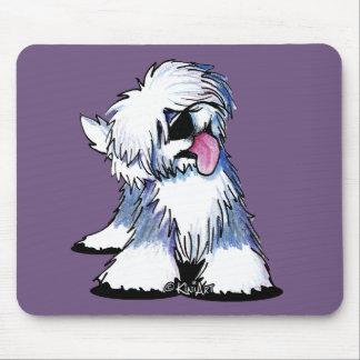 Sheepdog inglês velho Mousepad