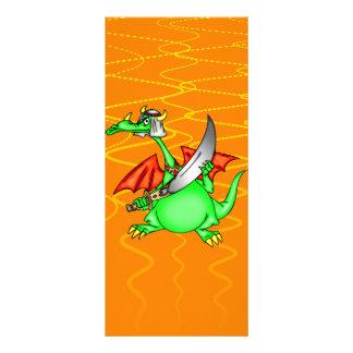 Sheik do dragão 10.16 x 22.86cm panfleto