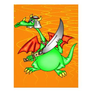 Sheik do dragão panfleto coloridos