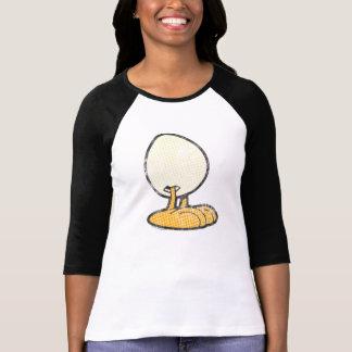 Sheldon a camisa das mulheres do ovo camisetas